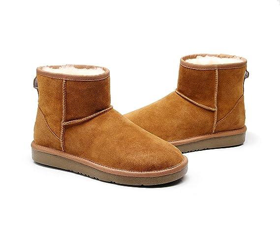2ebb5242ba3 Best Gift Choice 2019 New Premium Wool UGG Women/Men Classic Ankle ...