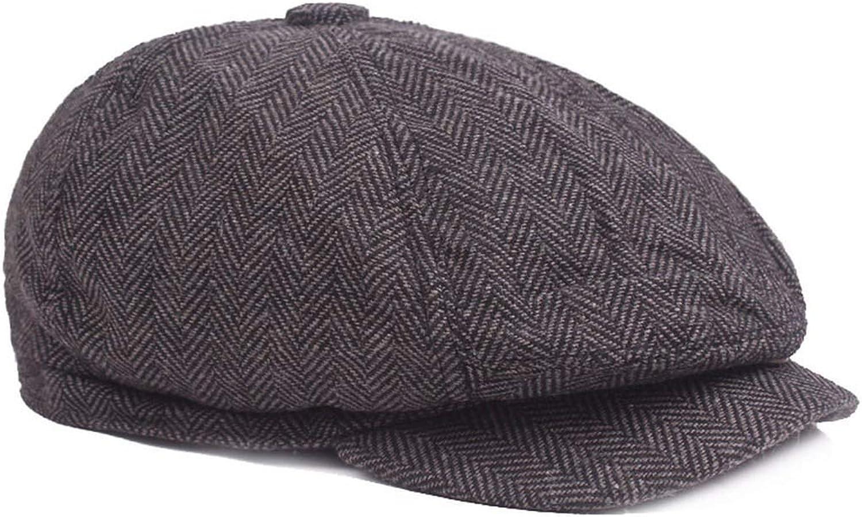 ACVIP Mens Demin Cotton Flat Cap Ivy Beret Hat