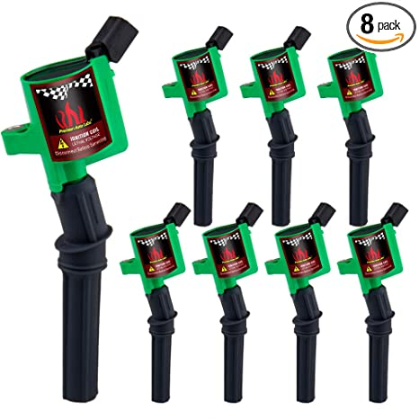 Amazon.com: CarBole Ignition Coil for Ford Crown Victoria Expedition F-150 F-250 F-350 Mustang Lincoln Mercury 4.6L 5.4L V8 DG508 DG457 DG472 DG491: ...