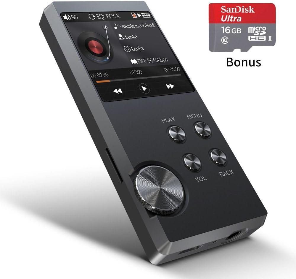 Bassplay P3000 Minirreproductor De Música Mp3 De Alta Resolución Con Ranura Para Tarjetas Sin Pérdida De Audio Soporte De Almacenamiento Ampliable Amazon Es Electrónica