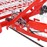 MOPHOTO Adult Tricycles Three Wheel Bike Cruise
