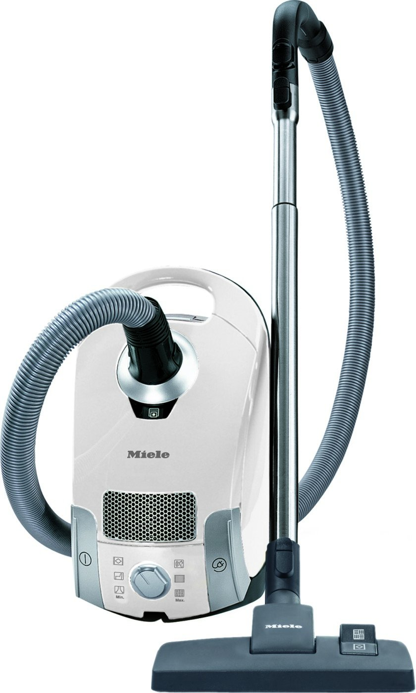 Miele Compact C1 Pure Suction Powerline Canister Vacuum, Lotus White by Miele
