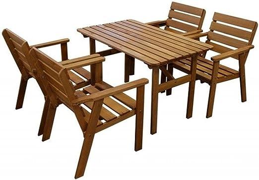 SSITG Asiento Grupo 4 Sillón + mesa Jardín Balcón Juego de mesa de jardín mesa silla: Amazon.es: Jardín