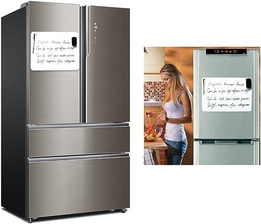 Premium Magnético frigorífico de borrado en seco pizarra blanca ...