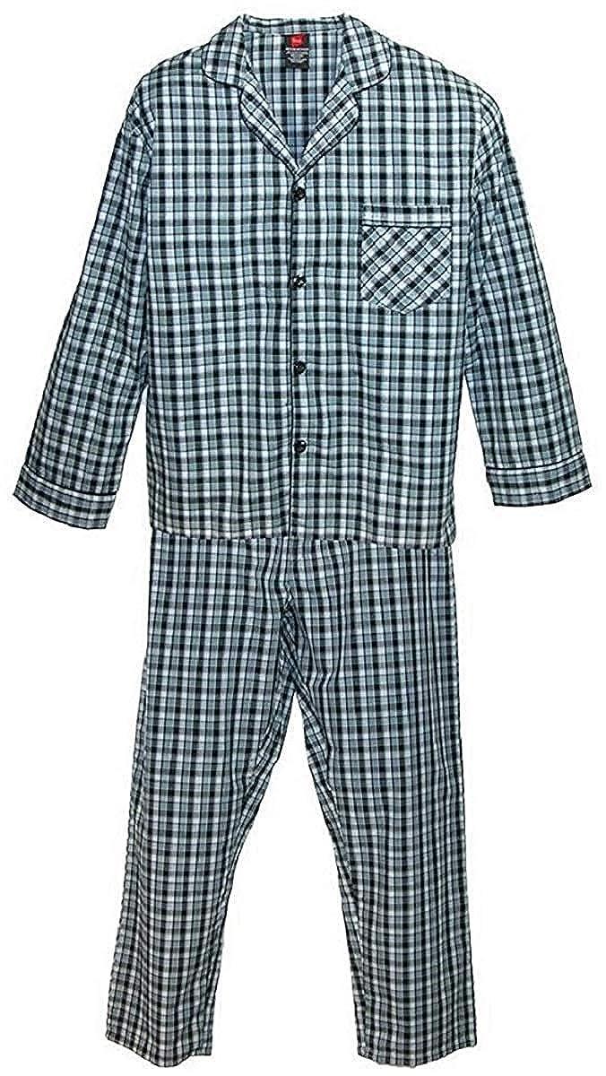 bb9620e96492 Amazon.com  Hanes Men s Woven Pajamas  Clothing
