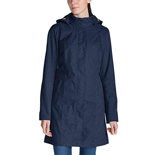 196602cee Eddie Bauer Women's Girl On The Go Insulated Trench Coat