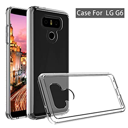 official photos a28b0 a6922 LG G6 TPU Cover, Skypillar Canada, Anti-Scratches Slim Fit Flexible Soft  Silicone Rubber Case for LG G6 (LGH873) - Transparent Clear