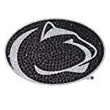 Penn State University Nittany Lions College NCAA Sports Team Collegiate Logo Car Truck SUV Motorcycle Trunk 3D Bling Gem Crystals Chrome Emblem Adhesive Decal