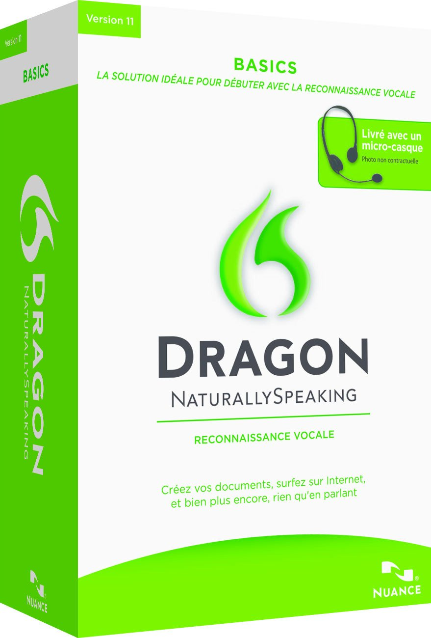 Dragon Naturallyspeaking Basics V11 Micro Casque Inclus Amazonfr