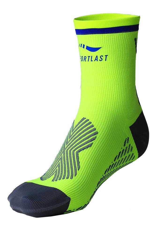 Sportlast Pro Calcetines de Tenis, Amarillo/Azul, XL: Amazon.es: Deportes y aire libre