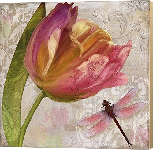 Tulip Tempest II by Color Bakery Canvas Art Wall Picture Museum