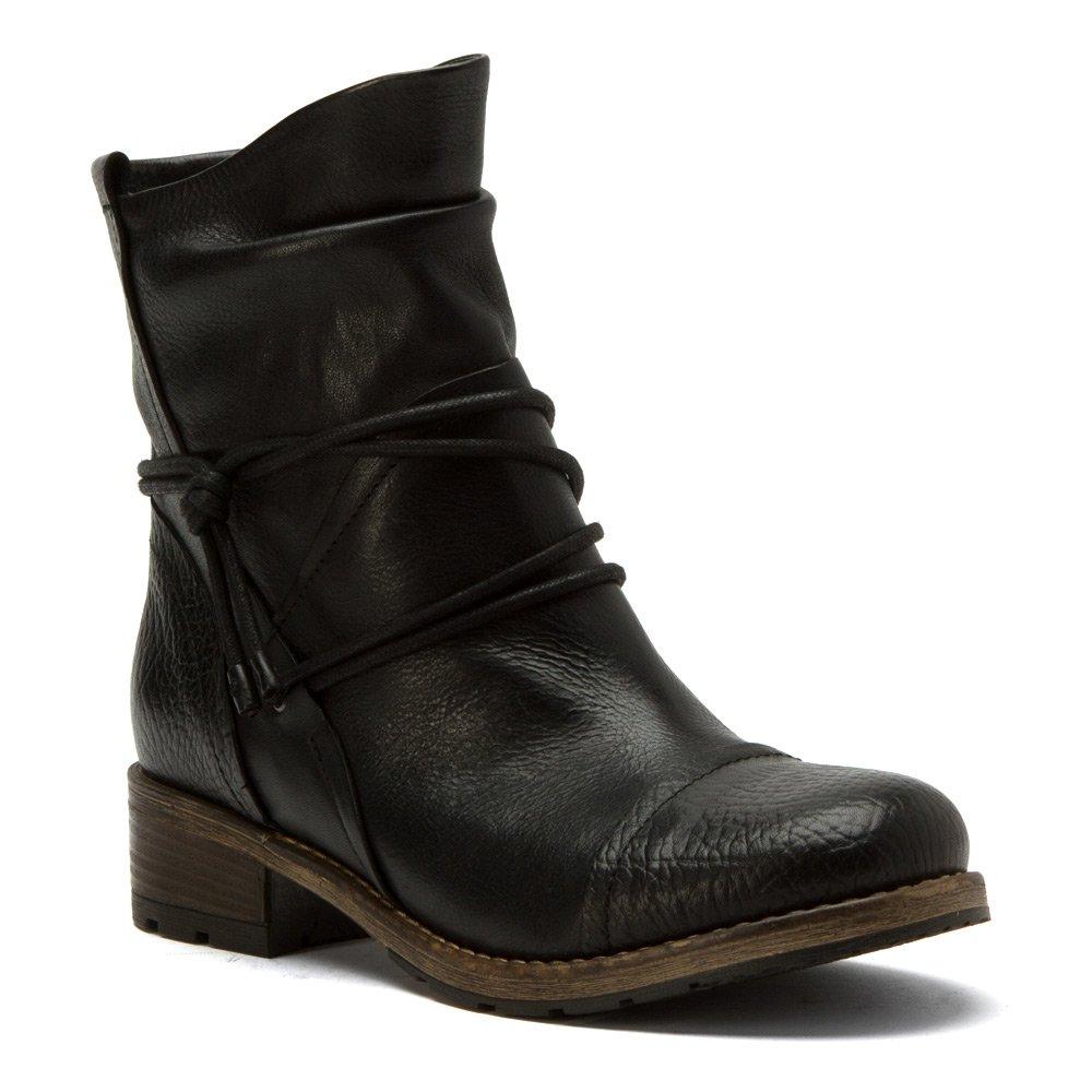 Clarks Women's Volara Dina Black Leather 6 M