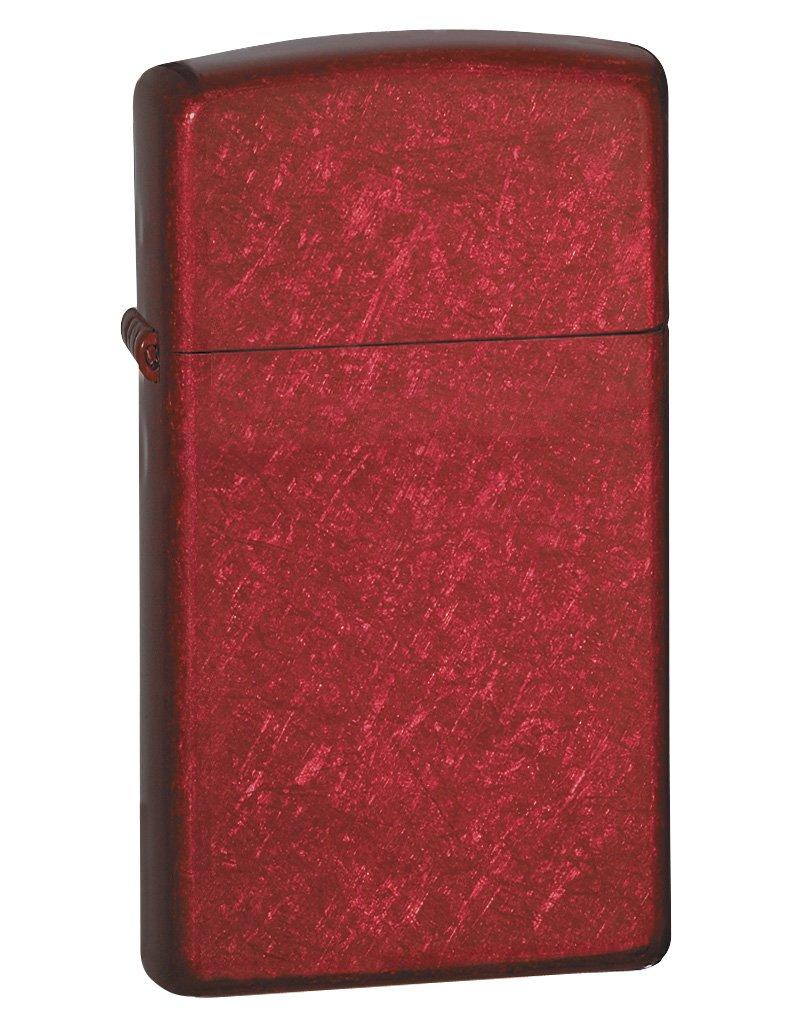 Zippo Lighter - Slim - Candy Apple Red