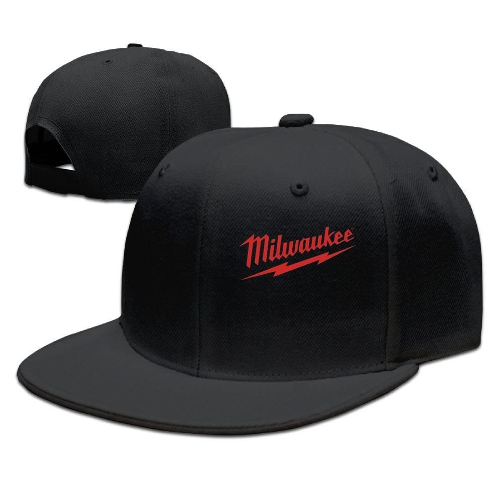 Addie E. Neff Power Tool Logo Milwaukee Father's Day Gift Unisex Cap Grill Master Unisex Style Strapback Hat