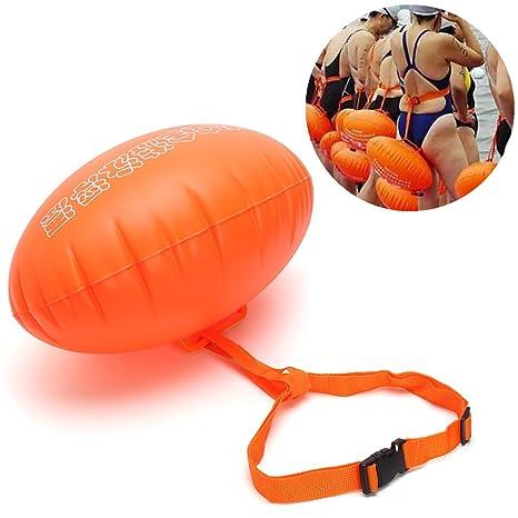 sorliva natación boya, Pull Buoy, hinchable flotador doble airbag para abierto agua nadadores y