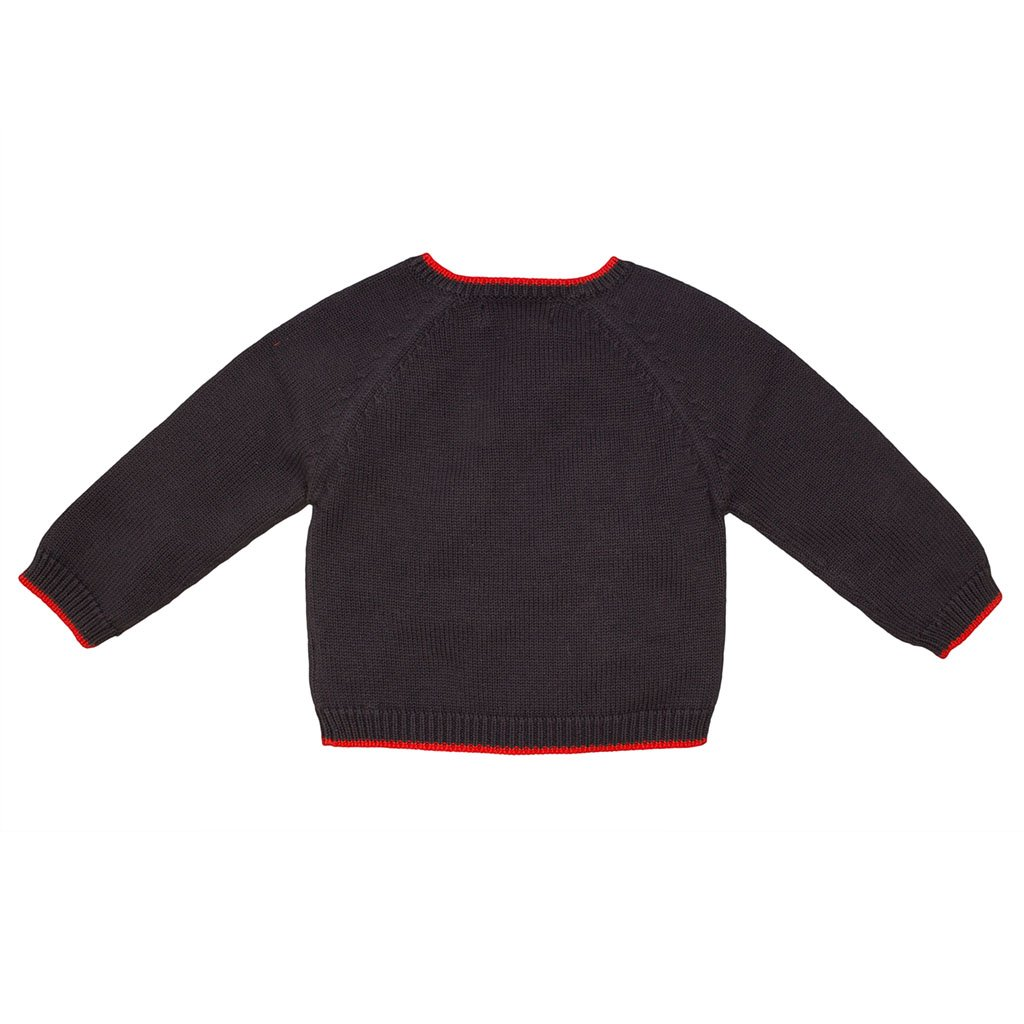 Zubels 100/% Hand-Knit Larry The Lobster Sweater All Natural Fibers