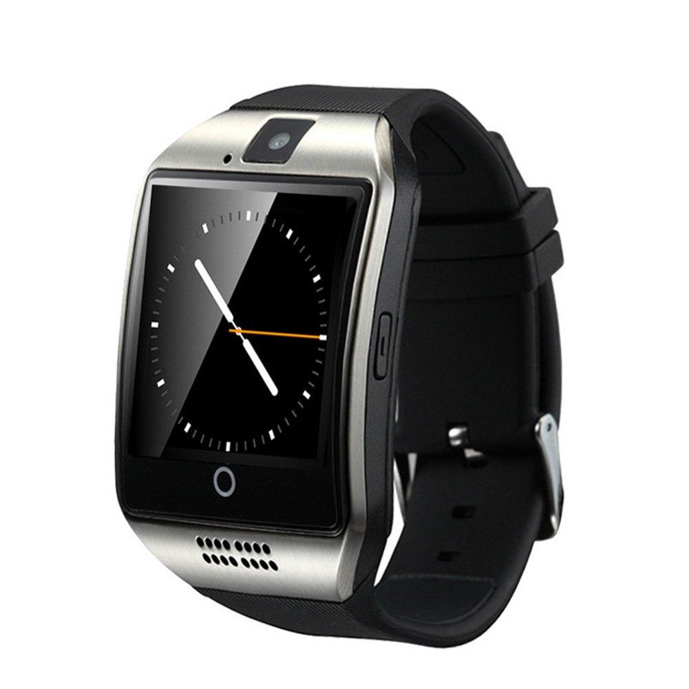WOTUMEO Smartwatch Q18 Smart Reloj Teléfono Bluetooth Watch Apoyo SIM TF Tarjeta De La Cámara HD Pantalla Táctil APP Reloj Para Android Smartphone, ...