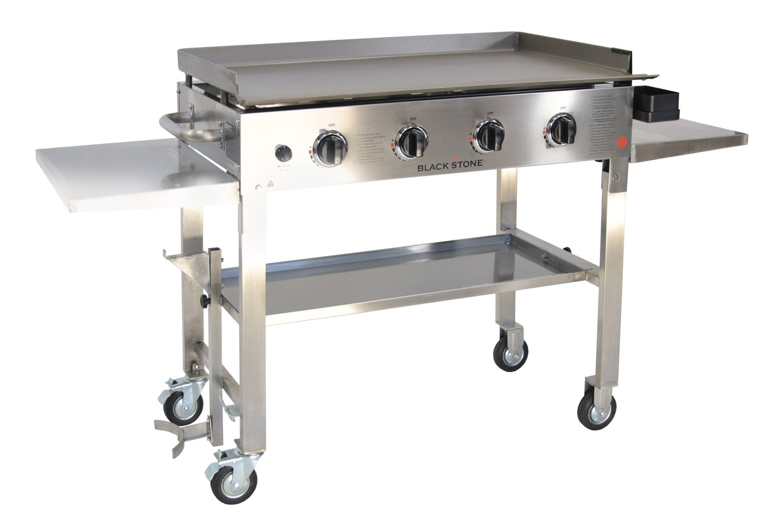 Amazon.com : Blackstone 36 inch Stainless Steel Outdoor Cooking ...