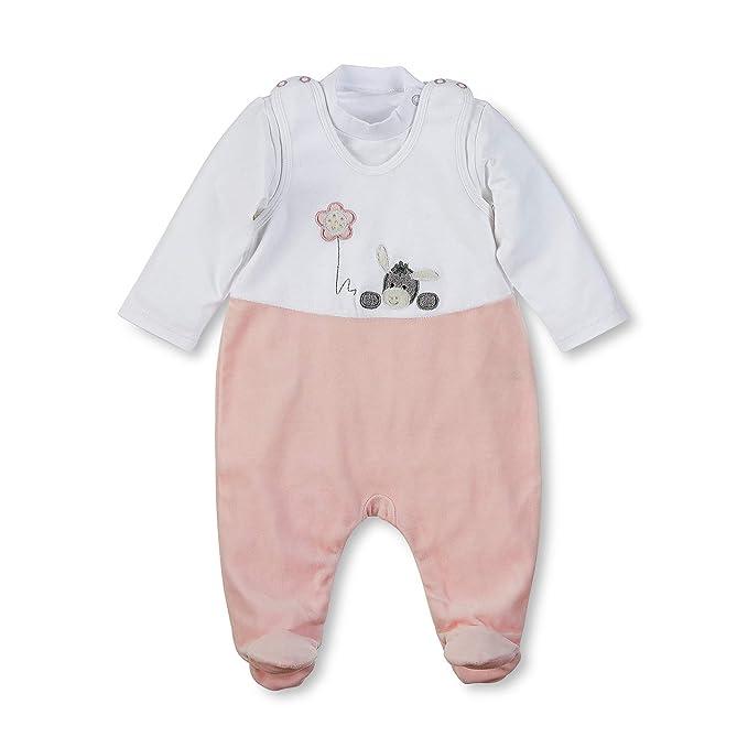 gut aus x großer Diskontverkauf heiß-verkaufender Beamter Sterntaler Baby-Mädchen Strampler 5601838, Weiß