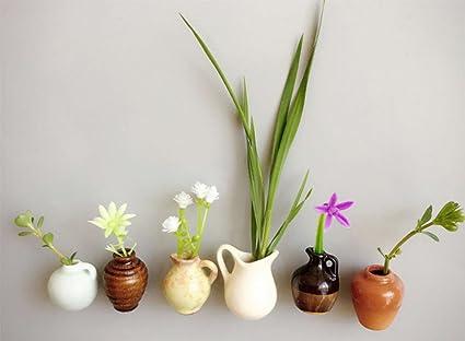 3/cm 3cm beige outflower Mini Vase cr/éatif Frigo aimant