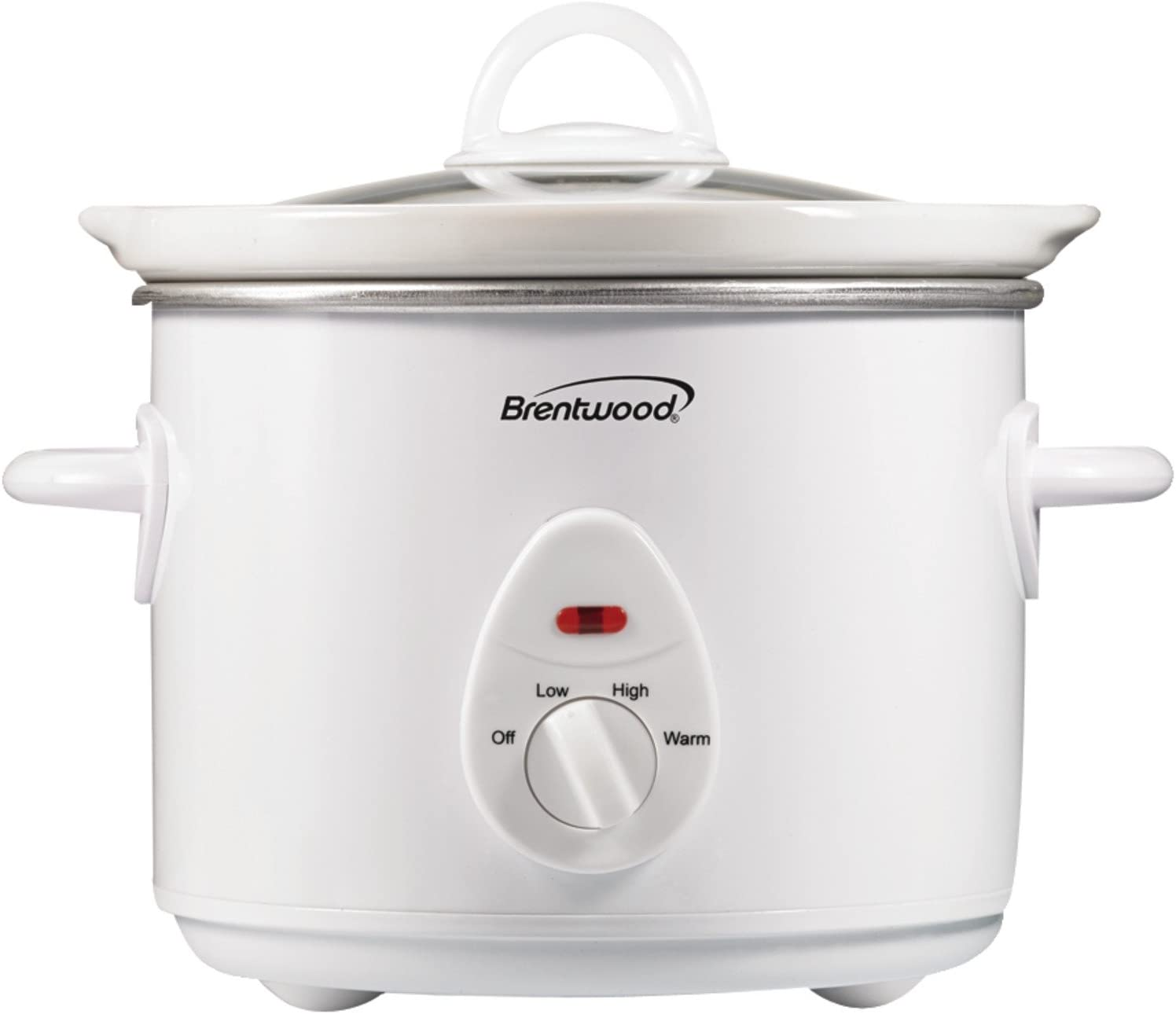 Brentwood Appliances SC-135W 3-Quart Slow Cooker (White)