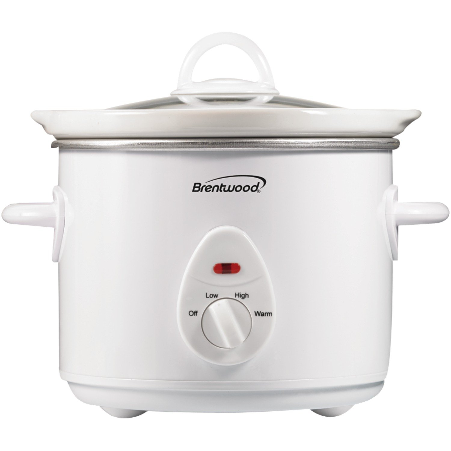 Brentwood Appliances SC-135W 3-Quart Slow Cooker White