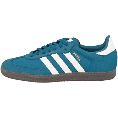 adidas samba bleu blanc