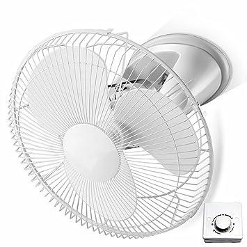 ZZHDDP Kreativer Drehbarer Deckenventilator / Praktische Raumsparende  Hängende Wand Fans / Leiser Großer Luftvolumen