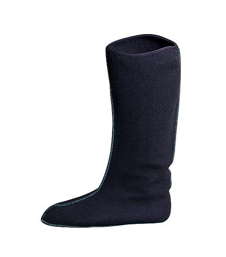 P3 International Fieltro Botas Calcetines Zapatos Interiores para Interior de Botas de Lluvia Botas 36 - 48 Largo Mujer herern calcetín erwärmungs ...
