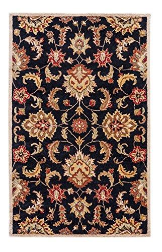 Jaipur Living Abers Hand-Tufted Oriental Black Area Rug (5' X 8')