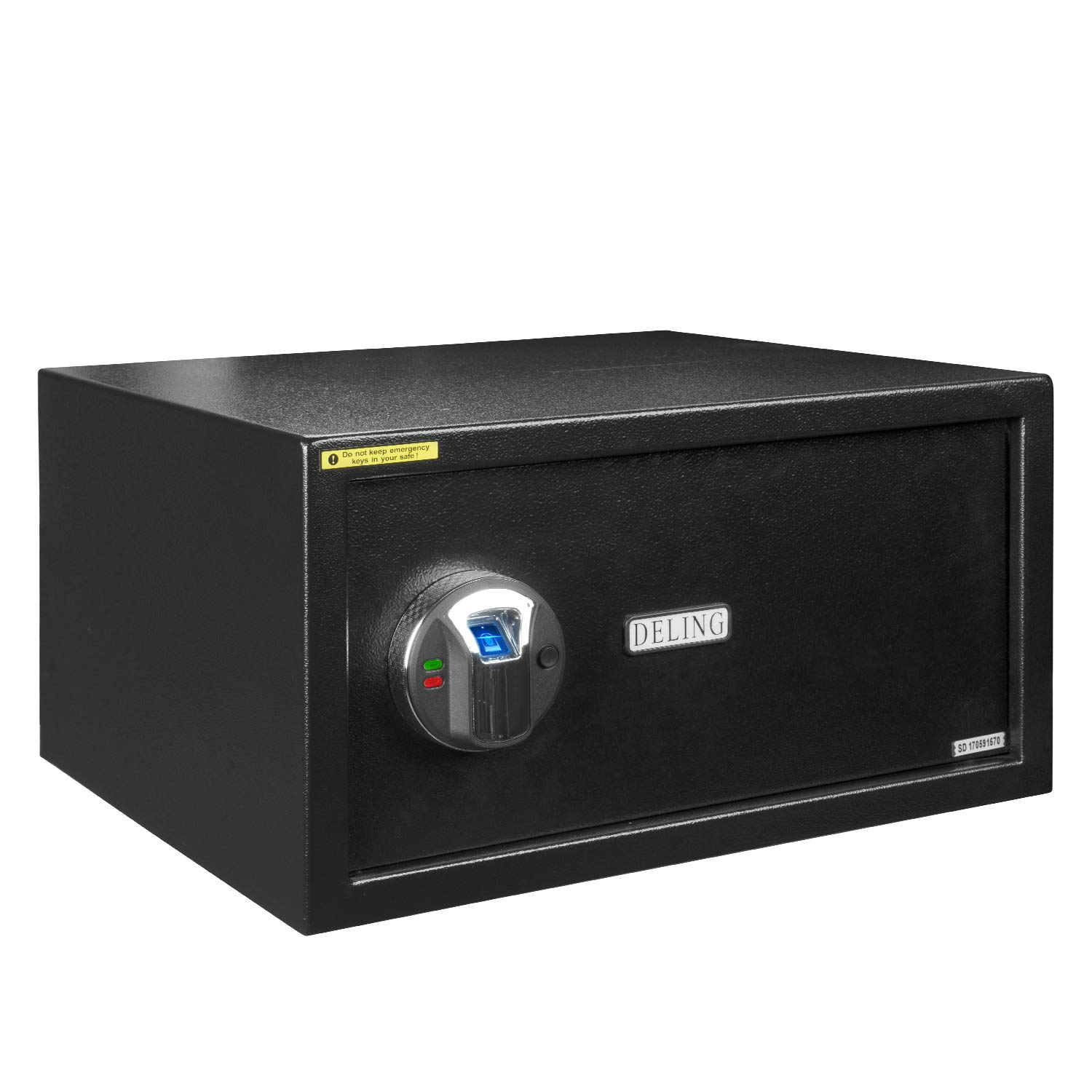 HYD-Parts Digital Security Safety Box,Black Money Gun Safe Cabinet Box for Home Office Gifts (23)