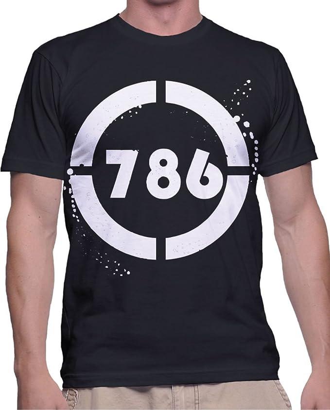 786 – Bismillah Al-Rahman Al-Rahim Slim Fit Men\'s T-Shirt: Amazon.in ...