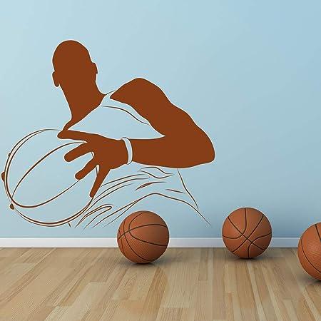 Geiqianjiumai Jugador de Baloncesto Gimnasio Deportes Pegatinas de ...