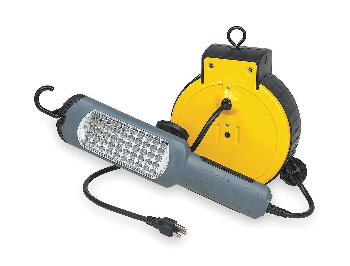 LED 25Ft Cord 1140W LumaPro 2YKR1 Hand Lamp Cord Reel