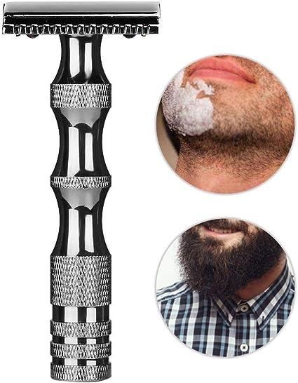 Afeitadora de seguridad, afeitado en húmedo de estilo clásico y ...