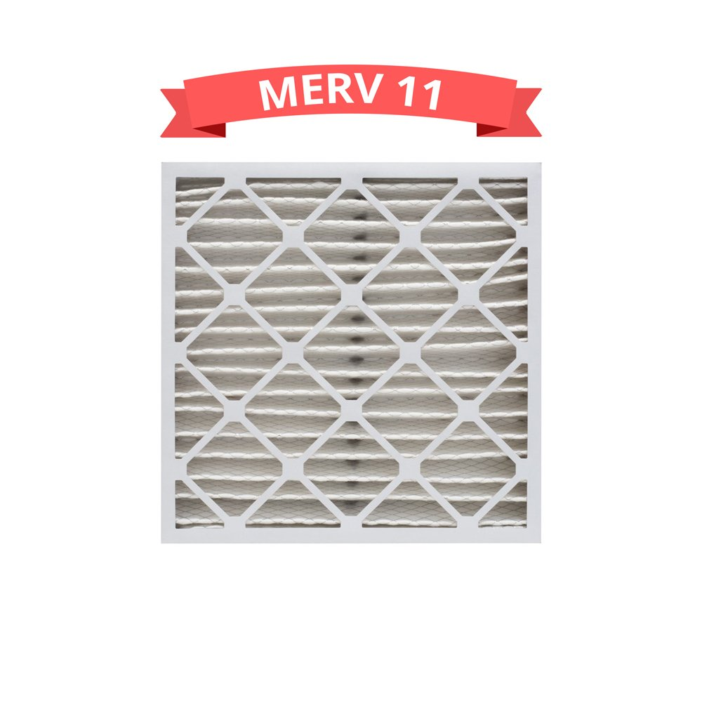 Replacement MERV 11 Pleated 16x25x4 Air Filters for Honeywell FC100A1029 (1 Pack)