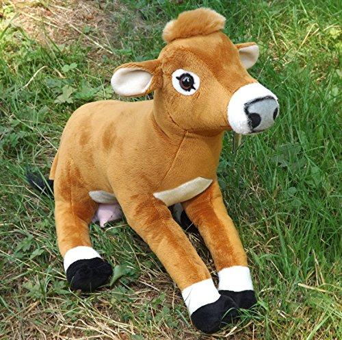 Jersey Cow Stuffed Animal - Adorable 16