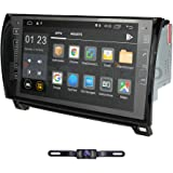 in Dash Android 10 Double Din 9 Inch Capacitive Touch Screen Car Stereo Video Receiver Player GPS Navigation with Bluetooth f