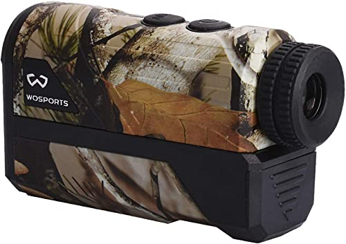 Wosports 650 1000 Yards Hunting Rangefinder Laser Rangefinder Archery Bow Hunting Ranging with Flagpole Lock Ranging Scan Speed