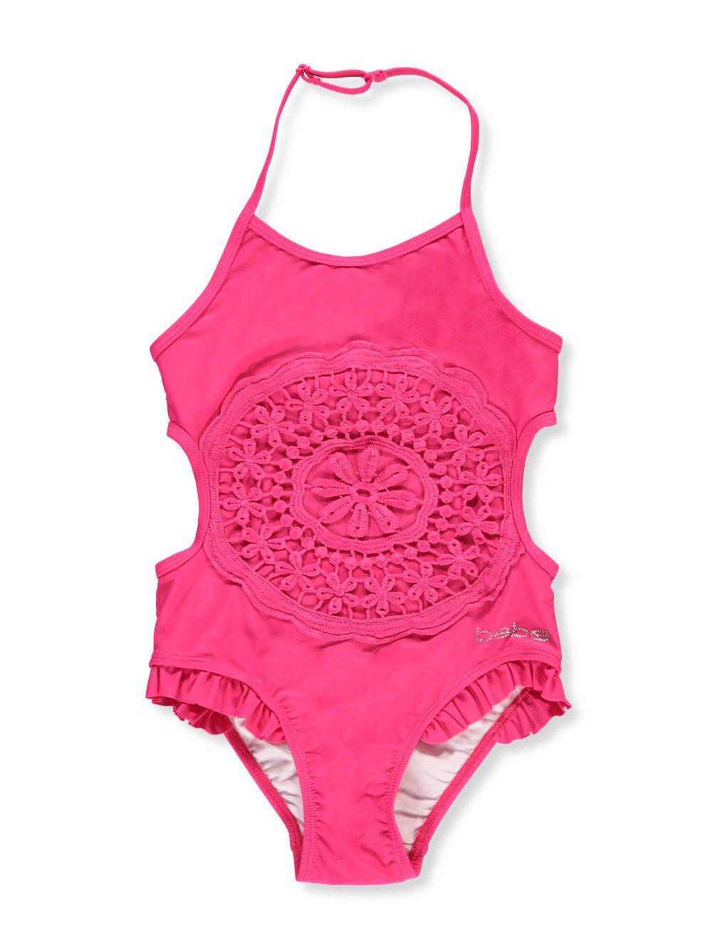 bebe Girls' 1-Piece Swimsuit 14