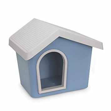 Accessori_Imac iMac Zeus 50 Cuccia Casita de plástico para Perros y Gatos. Colores Mezclados