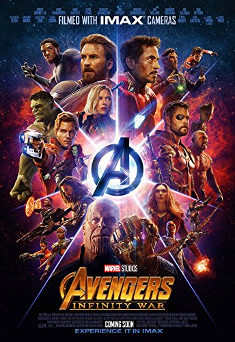 Print U Always Avengers Infinity War movie poster 24x36