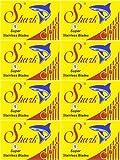 40 Lames Shark - Super Stainless + 1 Lame KAI Stainless Steel gratuite