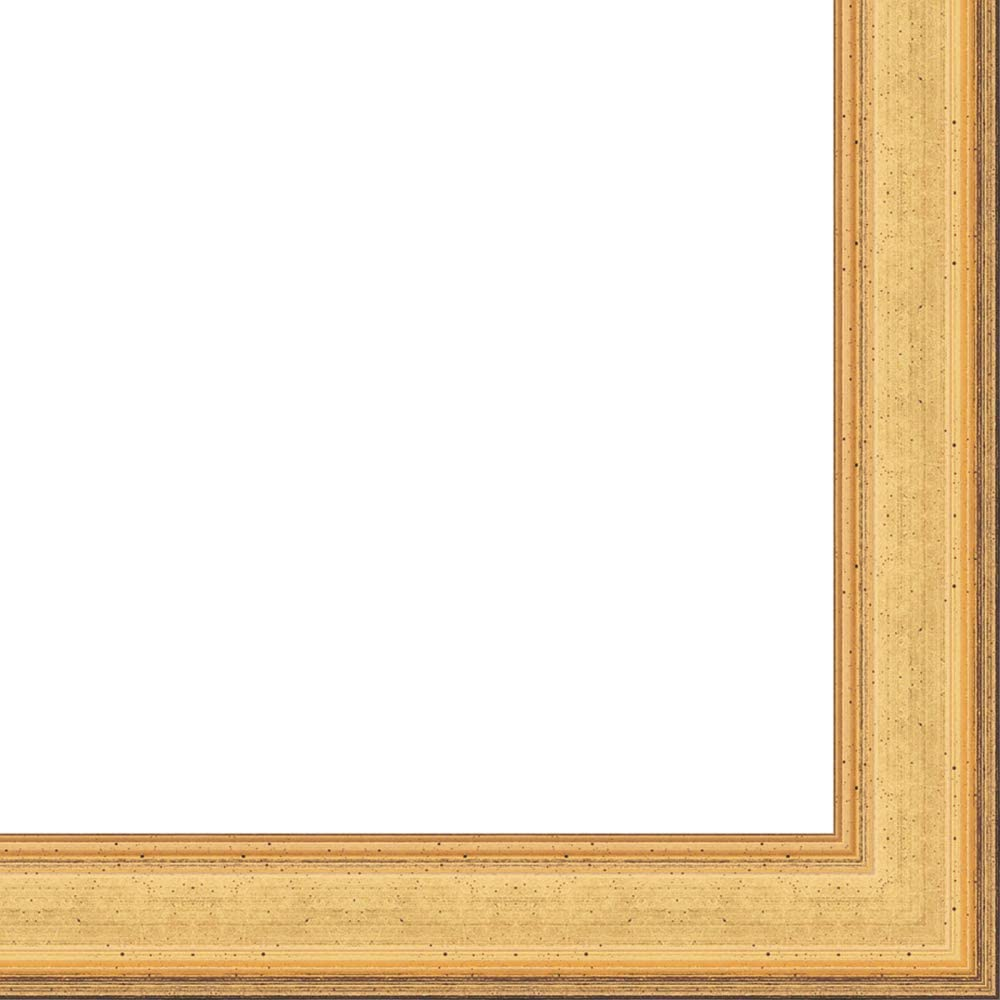 10x14 White Barnwood Picture Frame With Acrylic Front and Foam Board Backing