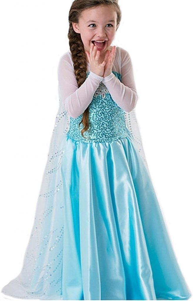 Nice Sport vestido princesa Frozen Frozen – Disfraz Niño Niña ...
