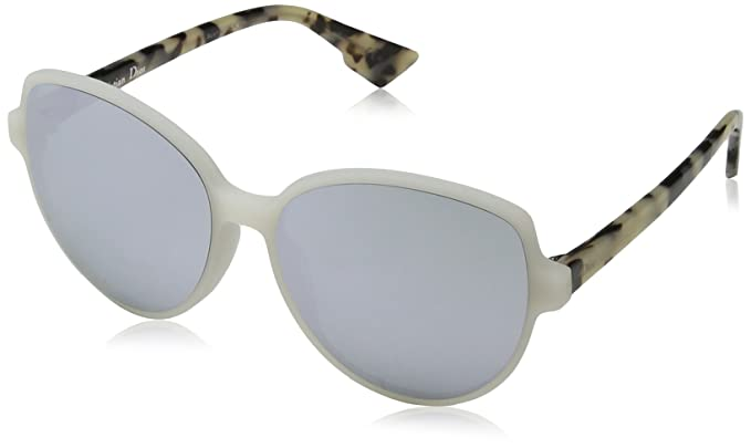 834a29b3bd Christian Dior DIORONDE2 DC X61, Gafas de Sol para Mujer, Blanco (Mtwhite  Havana/Extra White Marl), 58: Amazon.es: Ropa y accesorios
