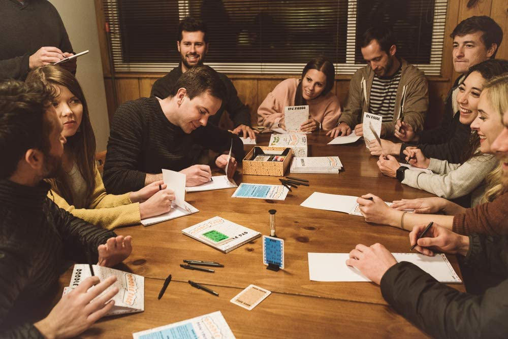 Best Party Game 3-20 Players Doodle Face A New Best Rated Gatwick Games Addition! A Hilarious Game of Drawing Your Friends and Family