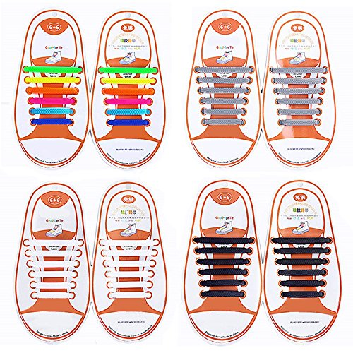 Talent Fashion Silicone Shoelaces Waterproof product image
