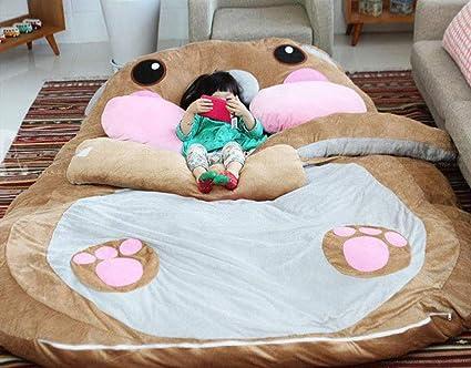 Amazon De Tatami Schlafsofa Cartoon Tiere Sitzsack Fur Kinder Hauptwohnzimmer Und Schlafzimmer