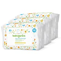 Babyganics Baby Wipes Unscented 100 ct 3 Pack Deals